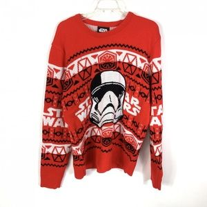 Star Wars Stormtrooper Red Ugly Christmas Sweater